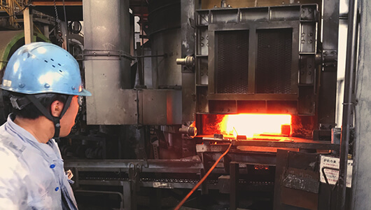 φ3,400回転式加熱炉