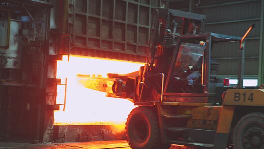 4,300mmバッチ式加熱炉