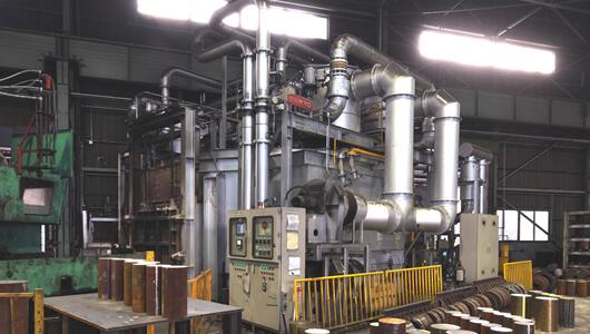 φ5,000回転式加熱炉
