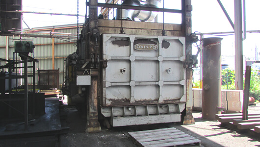 Carriage Type Heat Treatment Furnace