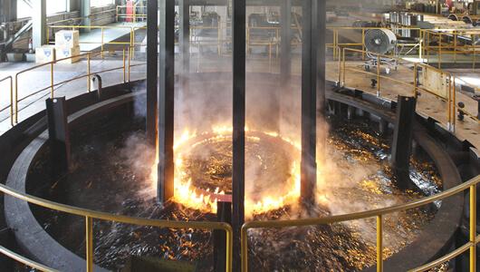 φ7000×3800 Quenching Oil Bath