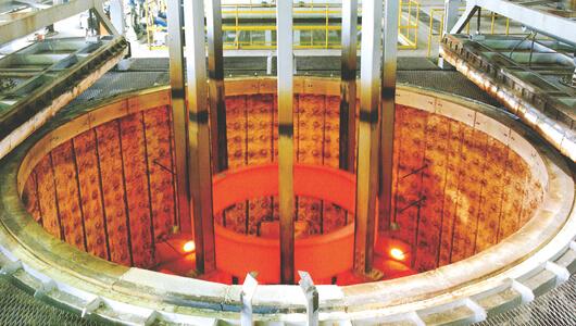 φ4500×1500 Pit Type Quenching Furnace