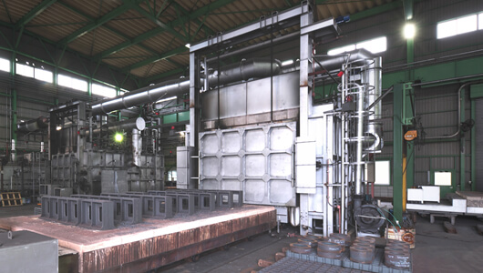 Carriage Type Annealing Furnace