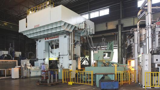 2,000t Hydraulic Press