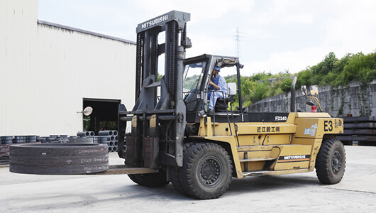 24t Large Forklift